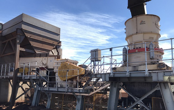 Mobile Crushing Line Project by Guangxi Endi Mining Co. LTD (GXEM), South Africa