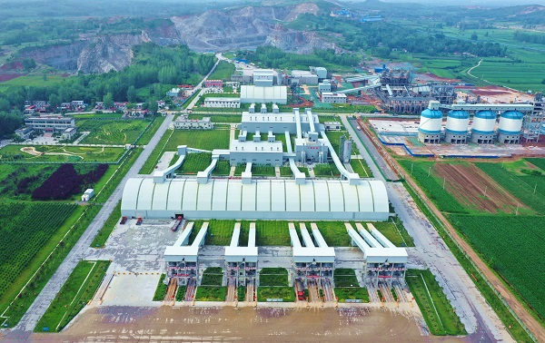 Magou 3000 t/h Aggregate Project in Queshan County, Henan Province