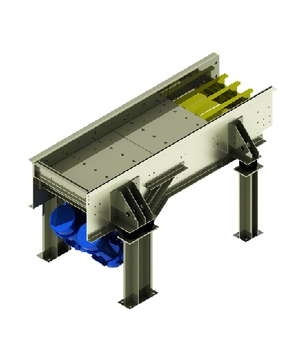 GPF series grizzly feeder