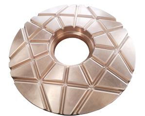 Lower thrust bearing plate