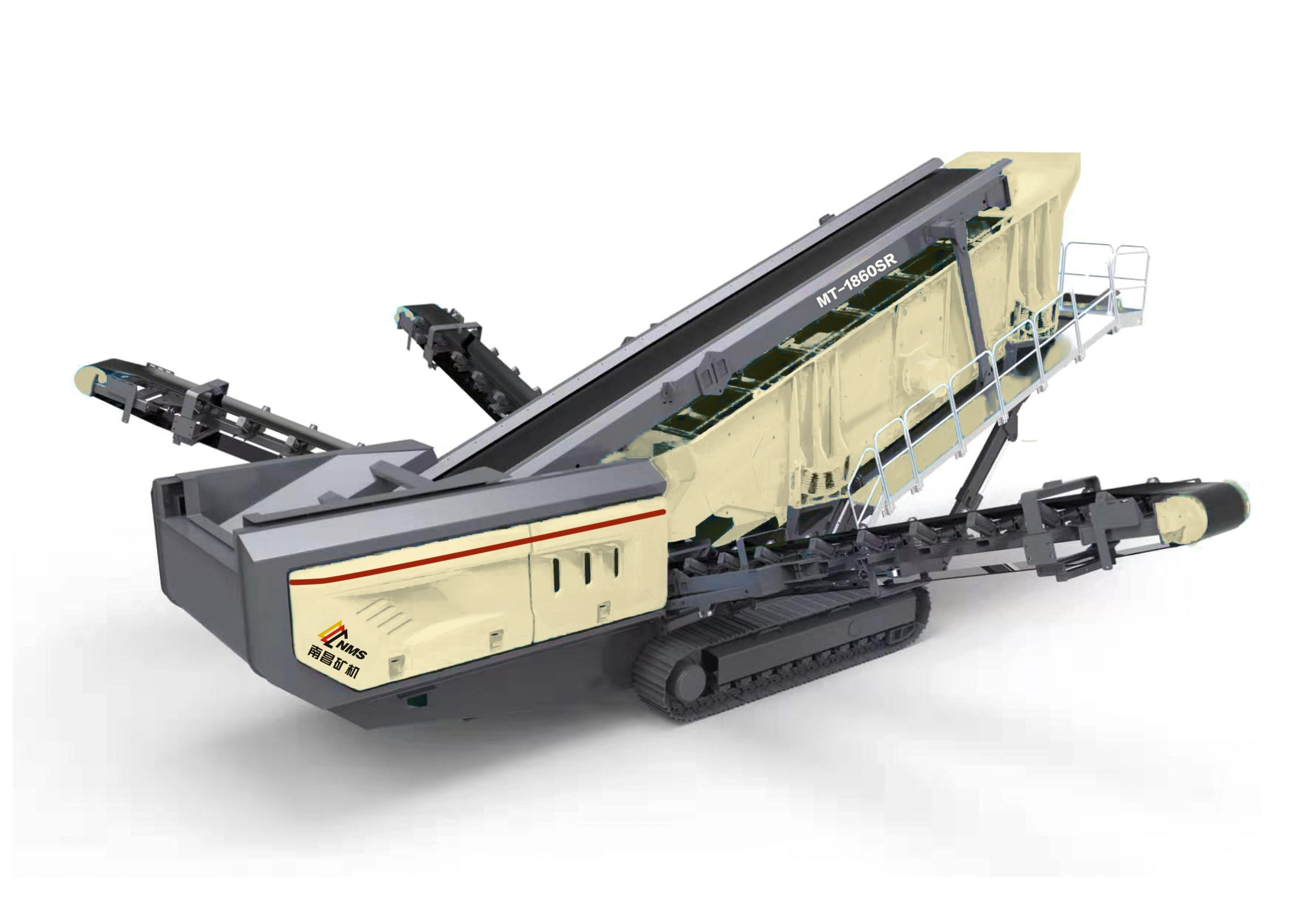 MT series mobile jaw plant