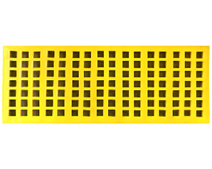 Polyurethane screen mesh (two hardness options)