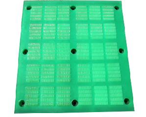 Square screen mesh