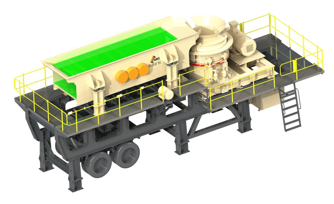 MP series mobile jaw plant