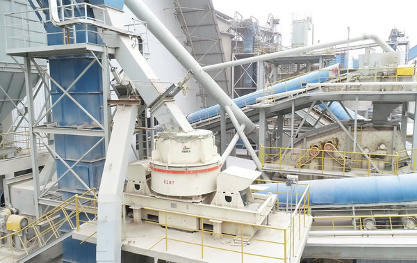850 t/h Aggregate Project of Jinrong Cement
