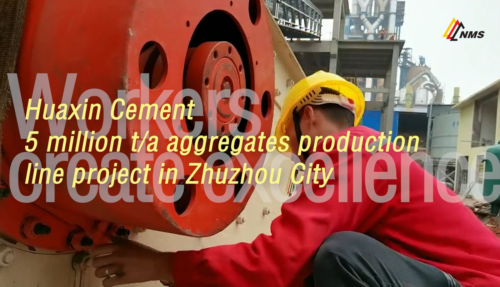 Huaxin Cement 5 million t/a Aggregates Production Line Project in Zhuzhou City