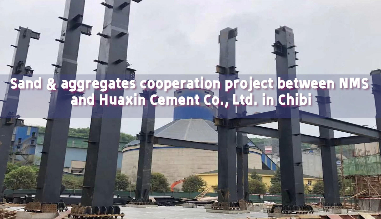 Sand and Aggregates Cooperation Project in Chibi, Hubei, China