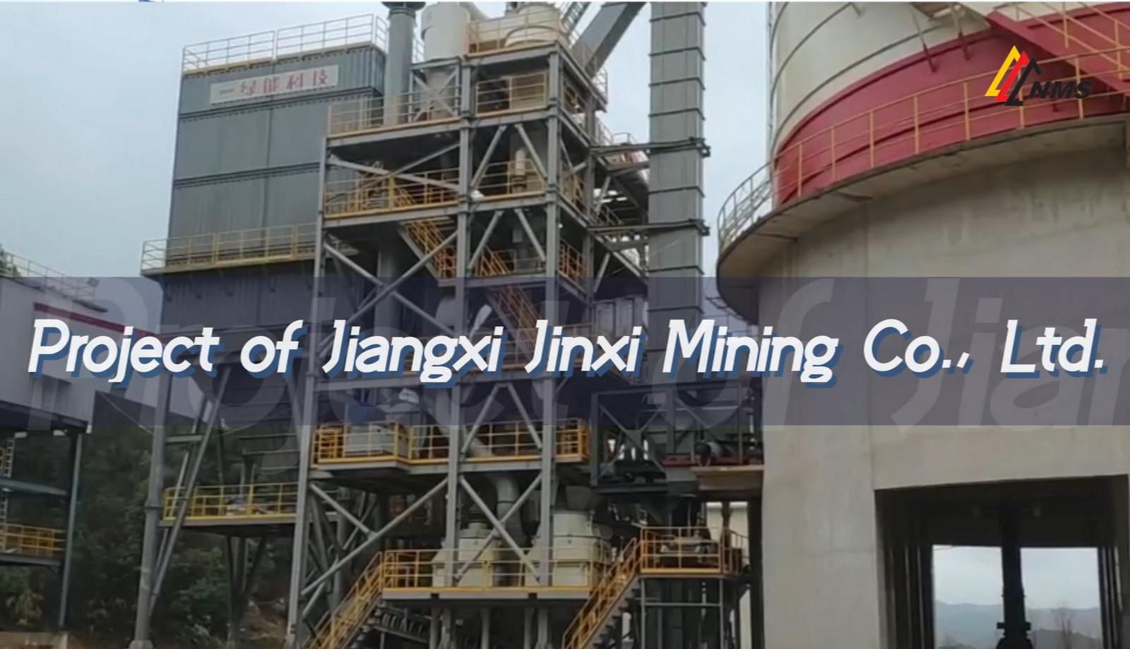 NMS Projcet of Jiangxi Jinxi Mining