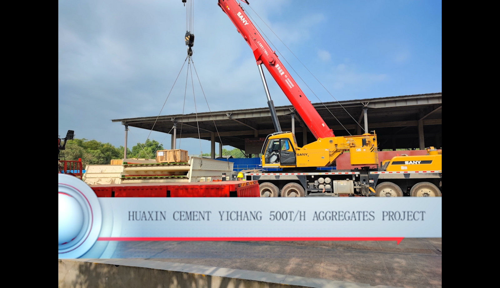 Huaxin Cement Yichang 500t/h Aggregates Project